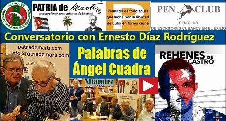 Ángel Cuadra Conversatorio con Ernesto Diaz