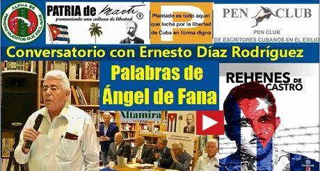 Ángel de Fana Conversatorio con Ernesto Diaz