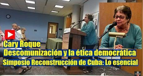Cary Roque Simposio Reconstruccion De Cuba