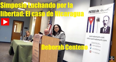 Deborah Centeno Simposio Nicaragua