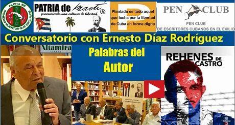 Conversatorio con Ernesto Díaz Rodríguez. Palabras del Autor