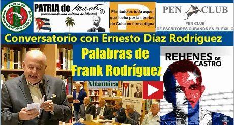 Frank Rodriguez Conversatorio con Ernesto Diaz