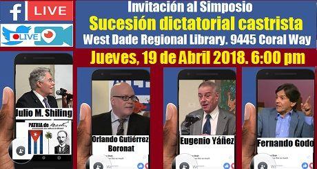 Invitacion Simposio Sucesion Dictatorial Castrista