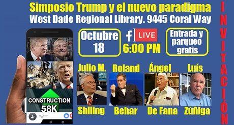 Invitacion Simposio Trump y el nuevo paradigma