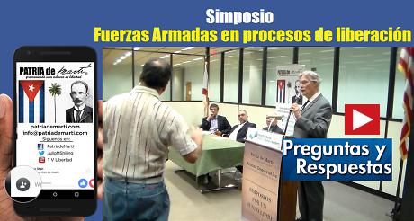 Preguntas y Respuestas Simposio Fuerzas Armadas en procesos de liberación