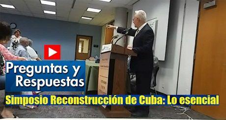 Preguntas Respuestas Simposio Reconstruccion De Cuba
