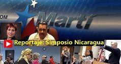 Reportaje de Radio Martí: Simposio Nicaragua