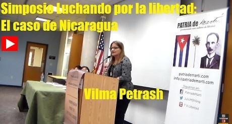 Vilma Petrash Simposio Nicaragua
