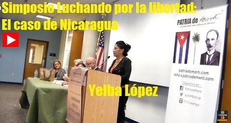 Yelba Lopez Simposio Nicaragua