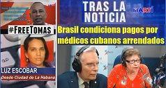 Brasil condiciona pagos por médicos cubanos arrendados
