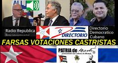 Conversando sobre las FARSAS votaciones castristas