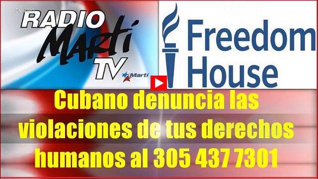 Cubano Denuncia Las Violaciones De Tus Derechos Humanos Youtube