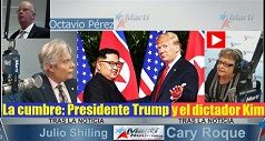 Cumbre entre el presidente Trump y el dictador Kim Jong-un