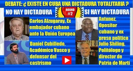 DEBATE Existe en Cuba una dictadura totalitaria Parte 2