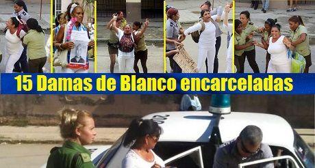Damas de Blanco encarceladas presos politicos