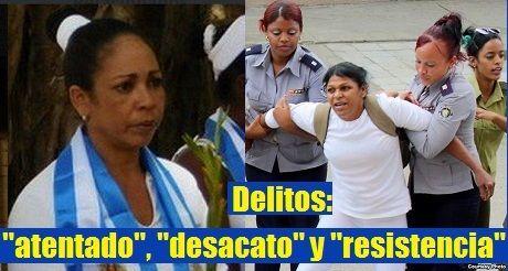 Damas De Blanco Encarceladas Por Delitos Fabricados Del Castrismo