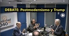 Debate postmodernismo y Trump