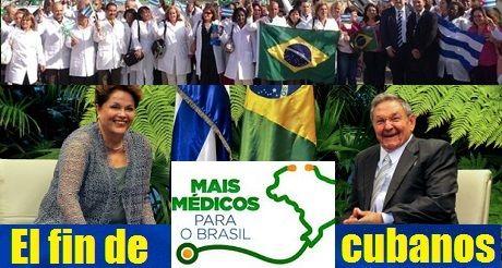 El fin de Mais Medicos para los profesionales cubanos