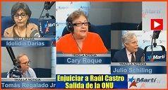 Enjuicar a Raúl Castro y salida de la ONU