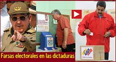 Farsas electorales en las dictaduras