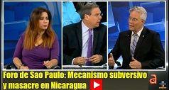 Foro de Sao Paulo Mecanismo subversivo y masacre en Nicaragua
