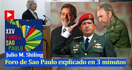 Foro de Sao Paulo explicado en 10 minutos