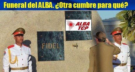 Funeral del ALBA
