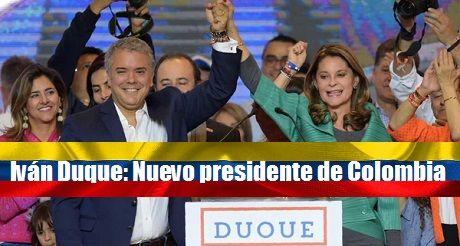 Ivan Duque Nuevo Presidente De Colombia