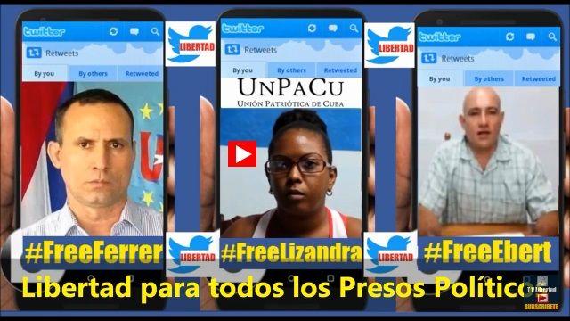 Libertad Para Los Ppresos Politicos Cubanos