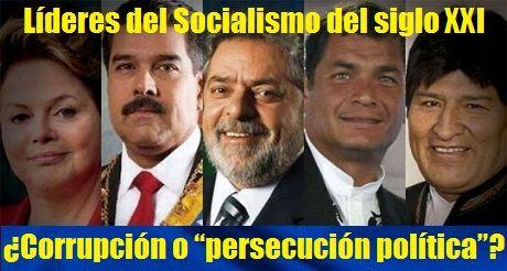 Líderes del Socialismo del siglo 21