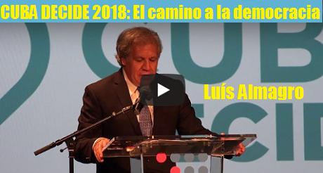 Luis Almagro Cuba Decide 2018