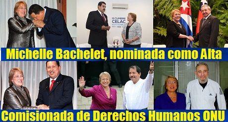 Michelle Bachelet Alta Comisionada DDHH ONU