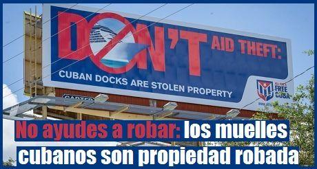 No ayudes a robar mulles cubanos son propiedad robada