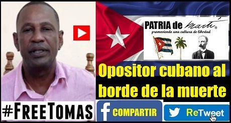 Opositor Cubano Al Borde De La Muerte
