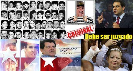 Raul Castro debe ser juzgado
