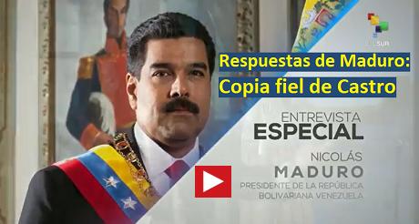 Respuestas De Maduro Copia Fiel De Castro FB