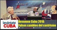 Resumen Cuba 2018 Falsos cambios del castrismo 238x127