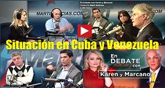 Situación en Cuba y Venezuela