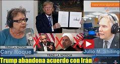 Trump Cancela Acuerdo Nuclear Con Iran 238x127