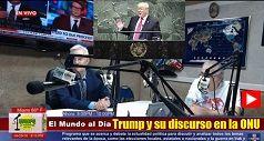 Trump y su discurso en la ONU
