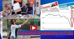 Votaciones fraudulentas en Cuba