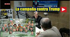 La campaña contra Trump