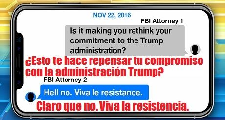 Conspiracion Anti Trump De Abogados Del FBI