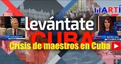 Crisis de maestros en Cuba