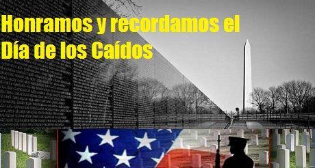 Día de los Caídos en Guerra o Memorial Day