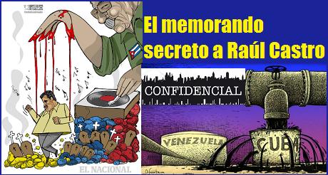 Memorando Secreto A Raul Castro