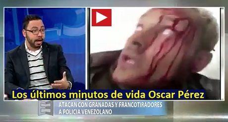 ultimos minutos de vida del ex piloto venezolano Oscar Perez FB