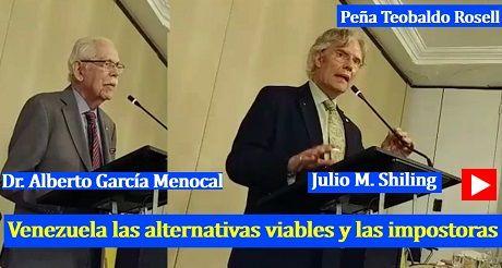 A G Menocal J M Shiling Venezuela alternativas viables impostoras
