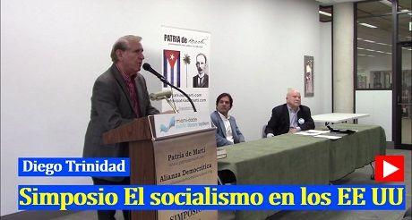 Diego Trinidad Simposio El socialismo en EEUU