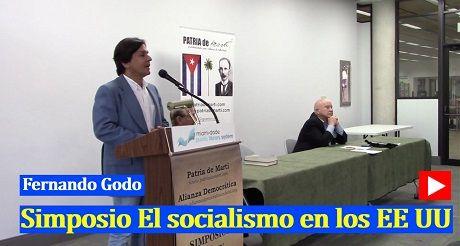 Fernando Godo Simposio El socialismo en EEUU